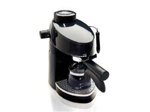 Continental Electric 4-cup Espresso Maker with Variable Steam