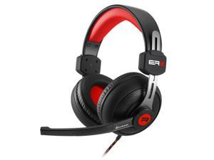 SHARKOON ER2 Black/Red 3.5mm Jack ,Circumaural Stereo Gaming Headset,Inline volume controller.