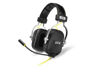SHARKOON SHARK ZONE H30 Black/Silver 3.5mm Jack, Circumaural Stereo Gaming Headset, Inline Volume Controller