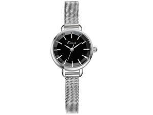 KIMIO Women's Watch Buckle Concise High Quality Alloy KW6020 Black