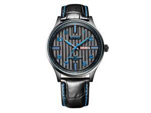 EYKI Mens Sports Casual Quartz Watches Fashion High Quality Daily Water Resist EW1028 Blue