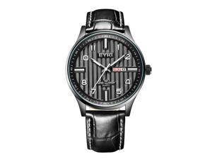 EYKI Mens Sports Casual Quartz Watches Fashion High Quality Daily Water Resist EW1028 White