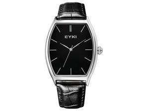 EYKI Mens Business Luxury Wrist Watches Fashion New Watch EW8863 Black