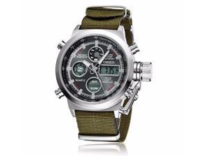 OHSEN Mens Digital Quartz Fashion Watches Sports Casual Watch OW1601 Black