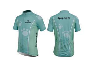XINTOWN CS1556 Children Cycling Short Sleeve Jerseys - FulL Zip