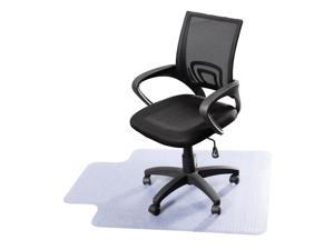 """48"""" x 36"""" PVC Home Office Chair Floor Mat For Wood/Tile 1.50mm Thick"""