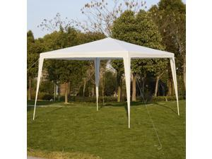 10'x10' Canopy Party Wedding Tent Heavy Duty Gazebo Pavilion Cater Event Outdoor White