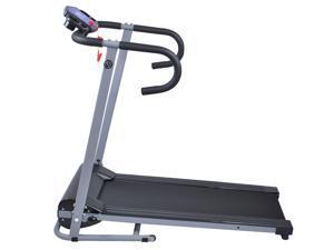 500W Folding Electric Treadmill Portable Motorized Running Machine Black