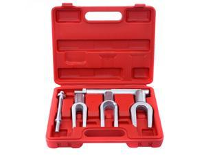 5 Pc Tie Rod Ball Joint Pitman Arm Tool Kit Joint Remover Separator Pickle Fork