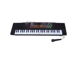 54 Keys Music Electronic Keyboard Kid Electric Piano Organ W/Mic & Adapter