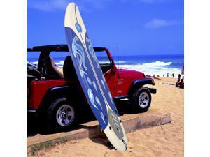 6' Surfboard Surf Foamie Boards Surfing Beach Ocean Body Boarding White