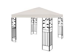 10' X 10' Gazebo Top Cover Patio Canopy Replacement 1-Tier Beige