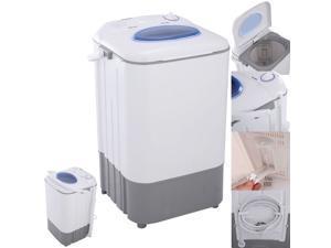 Mini Portable Manual Washing Machine Washer 7.7 lbs Single Tub Compact