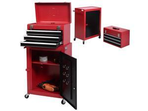 2pc Mini Tool Chest & Cabinet Storage Box