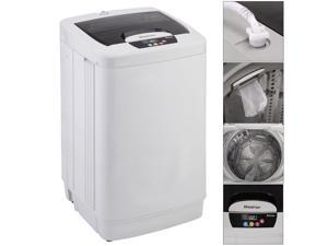 Portable Washing Machine Washer Small Fully Automatic 1.87 Cu.ft/12 lbs Spin