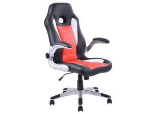 office bucket chair. Executive PU Leather Racing Style Bucket Seat Office Chair