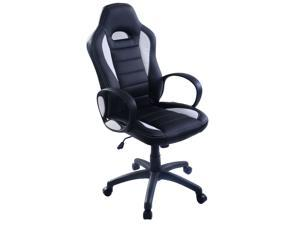 PU Leather High Back Executive Race Car Style Bucket Seat Office Desk Chair