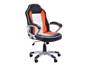 PU Leather High Back Executive Racing Style Office Chair Desk Task Computer