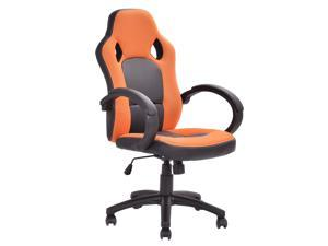 Executive Racing Style Chair Adjustable Computer Desk Task Swivel Office Chair