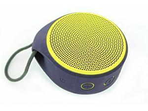 New Logitech X100 Wireless Bluetooth Speaker Yellow and Blue