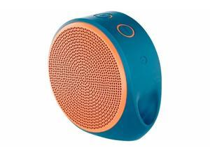 New Logitech X100 Wireless Bluetooth Speaker Orange and Blue