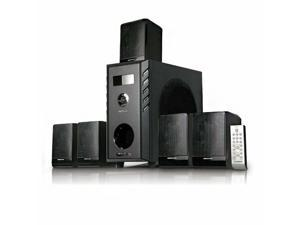 New Acoustic Audio AA5104 600 Watt 5.1 Home Theater Surround Sound Speaker System