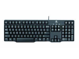 NEW Logitech Classic K100 Keyboard. K100 KEYBOARD PS2 CLASSIC KEYBOARD KEYB. WiredPS/2 - English - PC