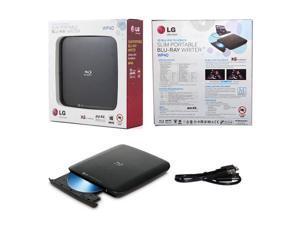 LG WP40NB30 Portable Blu-ray BDXL MDisc CD DVD 3D Playback External Burner Drive