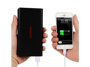 KMASHI 15000mAh External Battery Power Bank, Portable Charger with Powerful Dual USB Output and 2A Input  New