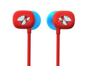 Ultimate Ears 100 Noise-Isolating Earphones - Red/Blue