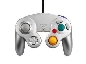 New Controller for Nintendo GameCube GC or Wii Silver US - (EggMart)