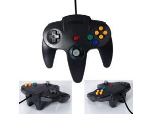 Black Long N64 Controller Gamepad Handle System for Nintendo 64 N64 Video Game