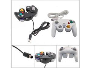 Lot2 Shock Game Controller Pad for Nintendo Gamecube GC WII Black + White