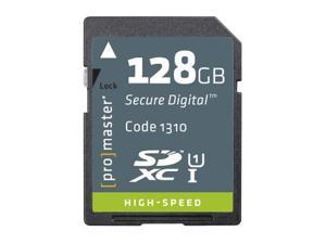 Promaster 128GB SDXC 366X Memory Card (High Speed)