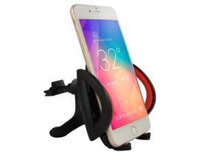 Ipow Car Mount,Universal Smartphone Car Air Vent Mount Holder Cradle With A Quick Release Button For iPhone 6 6+ 6S 6S Plus 5S 5,iPod Touch,Samsung Galaxy S5 S4/3 Note 2/3,Nexus,Nokia,LG G3,HTC,Black