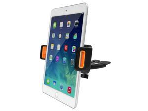Car Mount,Ipow Universal 360°Rotation Tablet CD Slot Car Mount Holder Cradle For iPad Mini 4 3 2 1, 7 to 9 Inch Mini Pad,Samsung GALAXY Tab,with Adjustable Padded Grip
