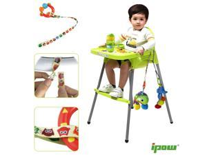 Universal Baby Bottle Toys Safety Strap Belt Pacifier Holders Organizer for Highchair Stroller Pram, Shopping Basket and Pretty Much Anywhere, 4 Pcs