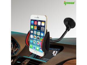 Car Mount,Universal Long Arm/neck 360°Rotation Windshield Car Mount Cradle Holder System For iPhone 6 6 Plus 6S 6S Plus 5S,iPod Touch,Samsung Galaxy S6 S6 Edge S5 S4,Nokia,Motorola,Blackberry,HTC