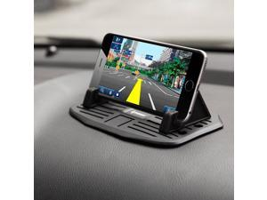 Ipow Car Silicone Pad Dash Mat Cell Phone Car Mount Holder Cradle Dock For Phone Samsung S5/S4/S3/iPhone 4/5/5s/6/6S(plus),Table PC Holder