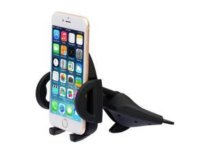 New Version,Ipow One Touch Installation CD Slot Smartphone Car Mount Holder Cradle for iPhone 6 6(+) 6S 6S plus 5S 5C 4S,iPod Touch,Samsung Galaxy S5 S4 S3 Note 2 Note 3,Nexus 5,HTC,LG,BlackBerry