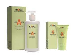 Moraz Natural Insect Repellent Prevent Mosquitoe Insect Bites & Polygonum Cream for Treatment of Skin Rashes (Pack of 2)