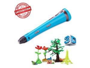 Beginner 3D Printing Pen by Future Former Smart Speed Control 3D Printer Pen , ABS/PLA Filament like 3Doodle, Children's Brain Development, Safety, 100% Money Back Guarantee