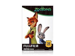 Fujifilm Instax Mini Glossy Instant Film - Zootopia (10/PK) (F037.040Z1)