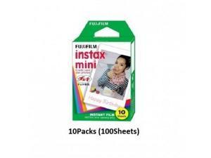 Fujifilm Instax mini Glossy Instant Film 10Packs (100Sheets)