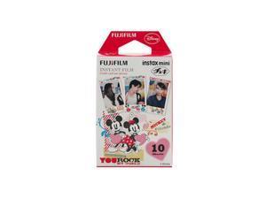 Fujifilm Instax Mini Glossy Instant Film - Mickey (10/PK)