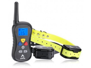 PatPet PTS-018B Rechargeable and Waterproof Remote Dog Training Collar (for 2 dogs)