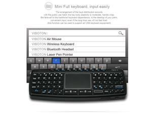 Viboton KB-168 Mini Wireless Keyboard