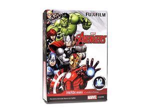 Fujifilm Instax Mini Glossy Instant Film - Avengers (10/PK) (F037.040AV1)