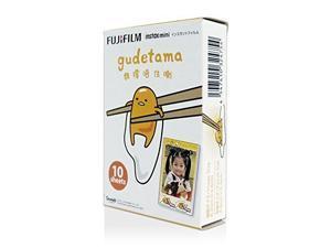 Fujifilm Instax Mini Glossy Instant Film - Gudetama (10/PK) (F037.040G1)