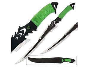 United Cutlery Black Legion DEATH STALKER SWORD GREEN BV301